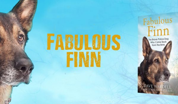 Finn Police Dog and his book fabulous finn