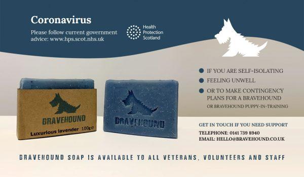 bravehound soap