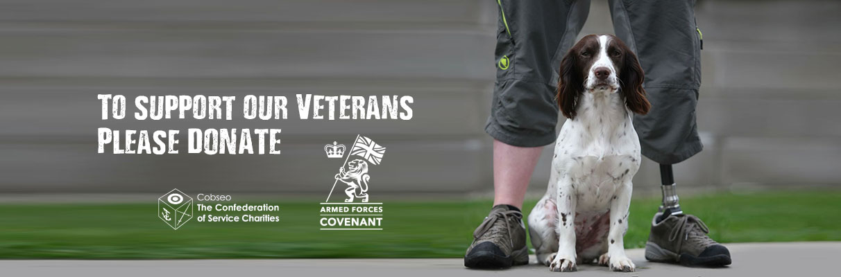 man and dog veteran charity