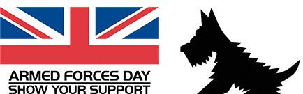 armed forces day and bravehound logo