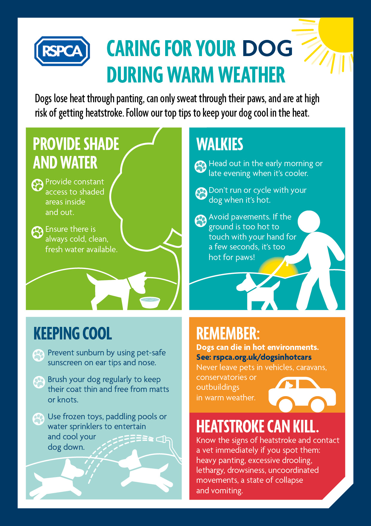 heat warning for dogs